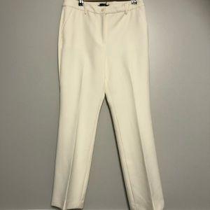 Talbots ivory Raleigh petite dress pants Sz 8p